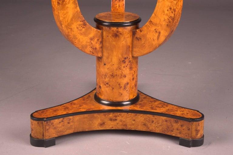Veneer Fine Occasional Side Table in Vienna Biedermeier Style For Sale