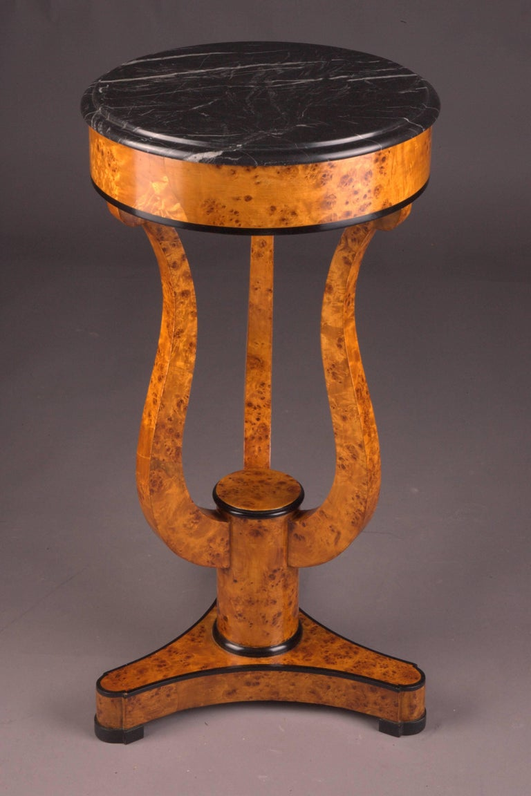 Fine Occasional Side Table in Vienna Biedermeier Style For Sale 1