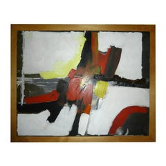 Fine Original Abstract Oil Painting Signed Risolia