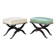 Fine Pair of Andre Arbus Footstools