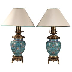 Fine Pair of Lamps by Gagneau