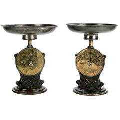 Fine Pair of Vintage English Salters Balance Scales