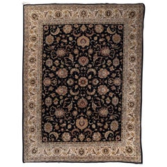 Fine Pak Persian Tabriz Design Rug, Wool, Hand Knotted