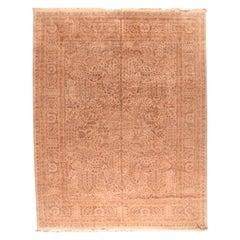 Fine Pak Tabriz Persian Design Pakistani Rug, Hand Knotted, circa 1970