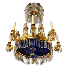 Fine Period 19th Century Russian Empire Ormolu Chandelier