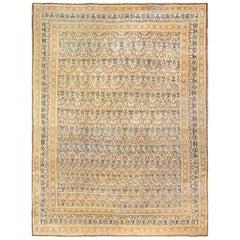 Fine Persian Tehran Room Size Antique Carpet