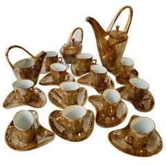 Fine Porcelain Tea and Coffee Set