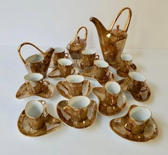 Fine Porcelain Tea and Coffee Set