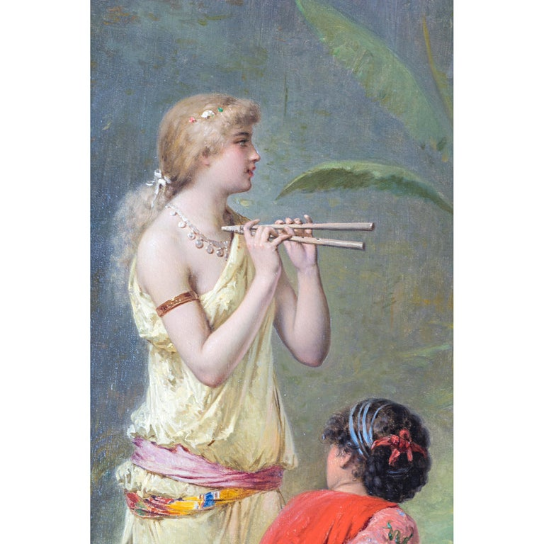 Painted Fine Quality 19th Century Painting by Pierre Olivier Joseph Coomans For Sale