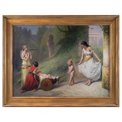 Fine Quality 19th Century Painting by Pierre Olivier Joseph Coomans