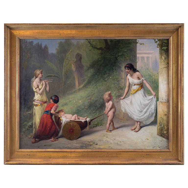 Fine Quality 19th Century Painting by Pierre Olivier Joseph Coomans For Sale