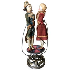 "Fine Quality Antique French Toy ""Dancing Couple"", circa 1880, Rare"