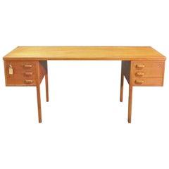 Fine Quality Danish Mid Century Modern Writing Desk Table C1960