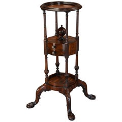 Fine Quality Mahogany Gentleman's Wash Stand of Superb Patina
