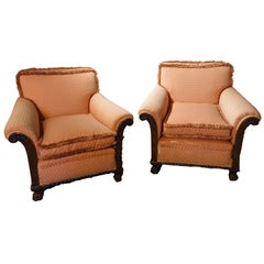 Fine Quality Pair of Late 1920s Drawing Room Chairs