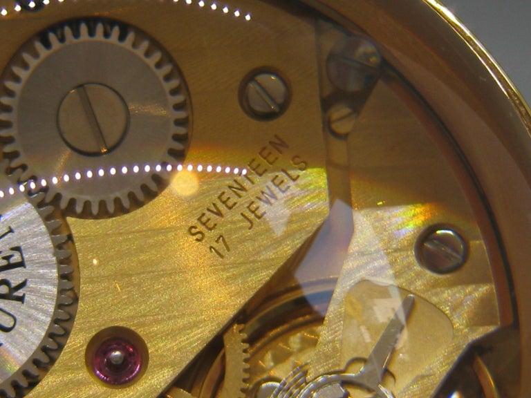 Fine Ralph Lauren Brass & Glass Ball Shaped Desk Clock w/Box & Stand Swiss Made For Sale 8