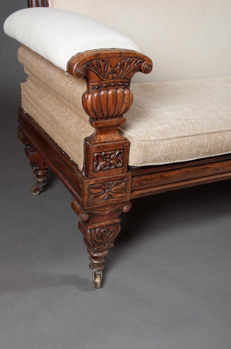 Fine Regency Mahogany Sofa After John Taylor For Sale 5