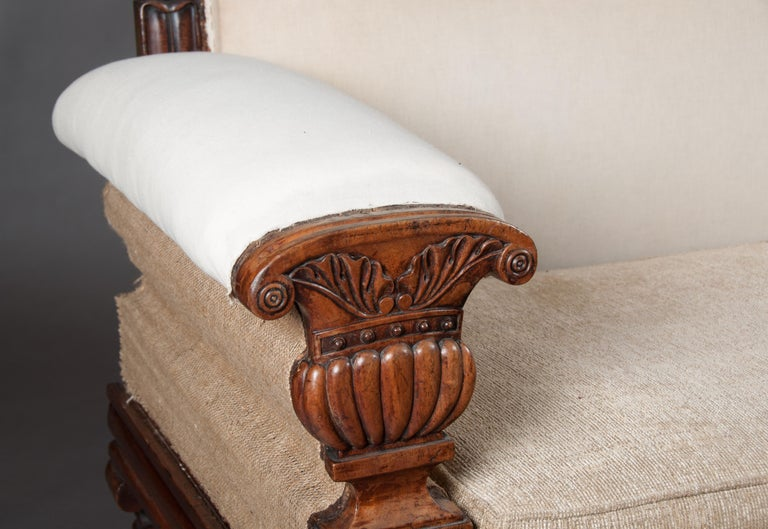 Fine Regency Mahogany Sofa After John Taylor In Good Condition For Sale In Benington, Herts