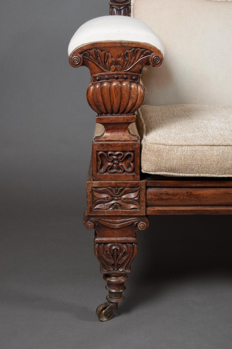 Early 19th Century Fine Regency Mahogany Sofa After John Taylor For Sale
