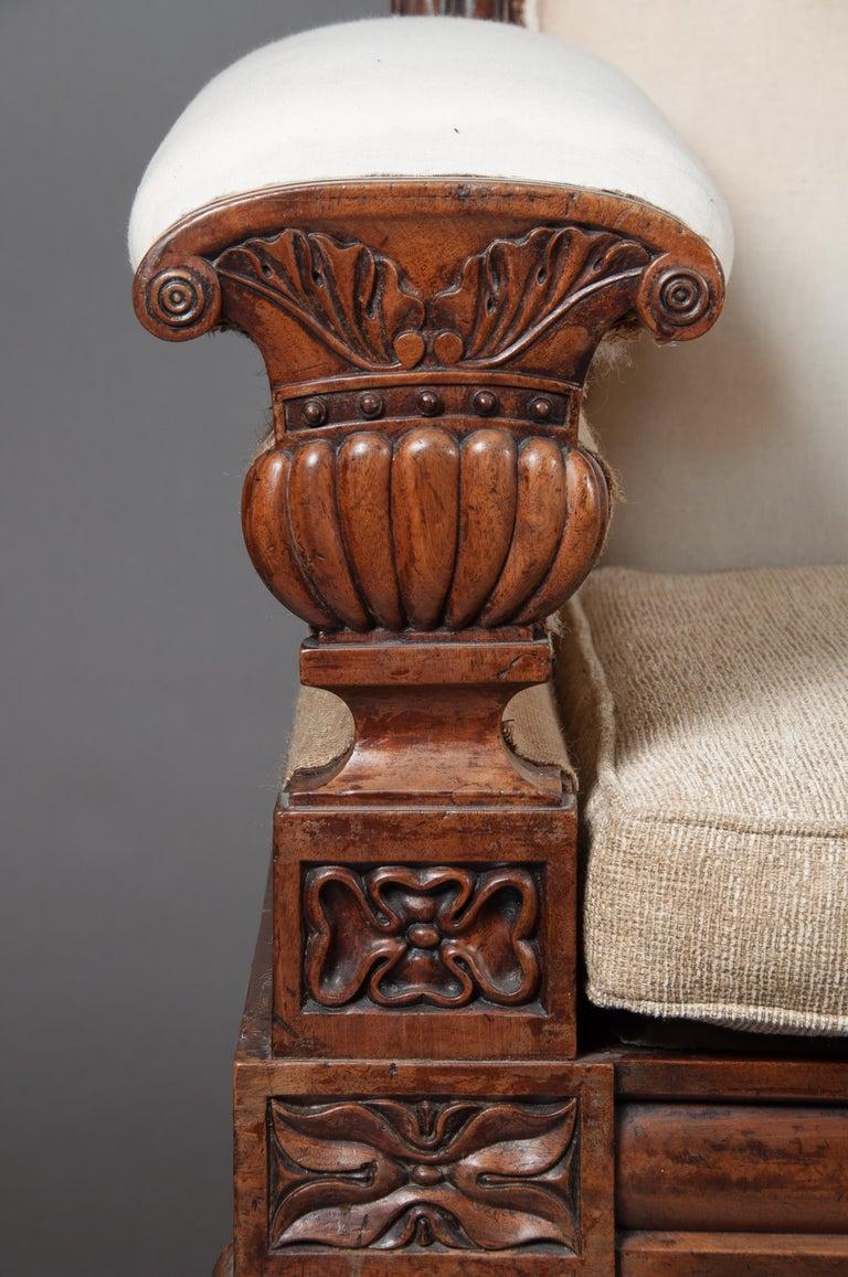 Fine Regency Mahogany Sofa After John Taylor For Sale 1