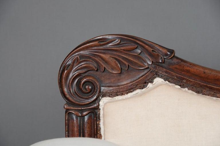 Fine Regency Mahogany Sofa After John Taylor For Sale 2