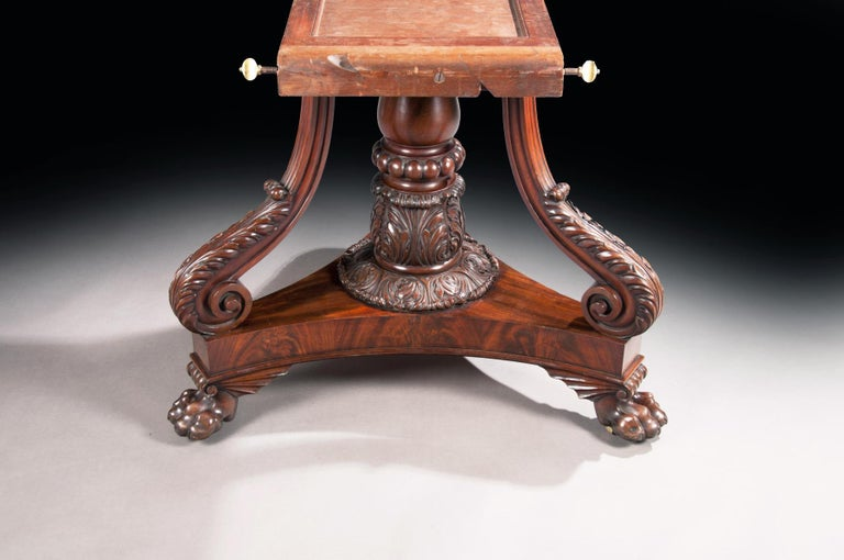 Fine Regency Period Mahogany Centre Table For Sale 7