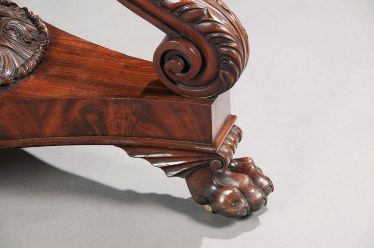 Fine Regency Period Mahogany Centre Table For Sale 8