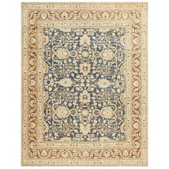 Fine Room Size Antique Persian Khorassan Rug. Size: 8 ft 8 in x 10 ft 10 in