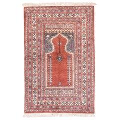 Fine Semi Antique Turkish Rug, Hand Knotted, circa 1930