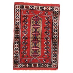 Fine Semi Antique Turkish Rug, Hand Knotted, circa 1930