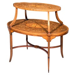 19th Century Sheraton Oval Coffee Table