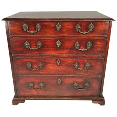 Fine Small Chippendale Mahogany Chest of Drawers