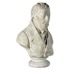 Fine Statuary Marble Bust of James Montgomery
