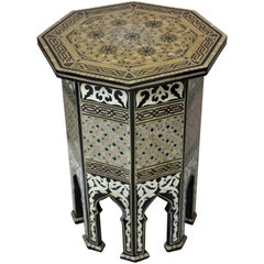 Fine Syrian Inlaid Table