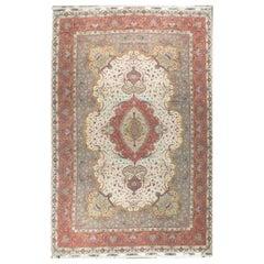 "Fine Oversize Tabriz Wool and Silk Persian Rug, 13'2"" x 20'0."