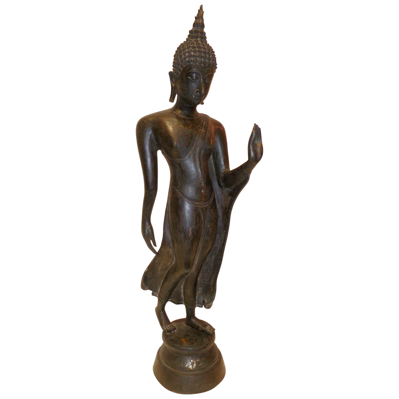 Thai Sanding Bronze Buddha