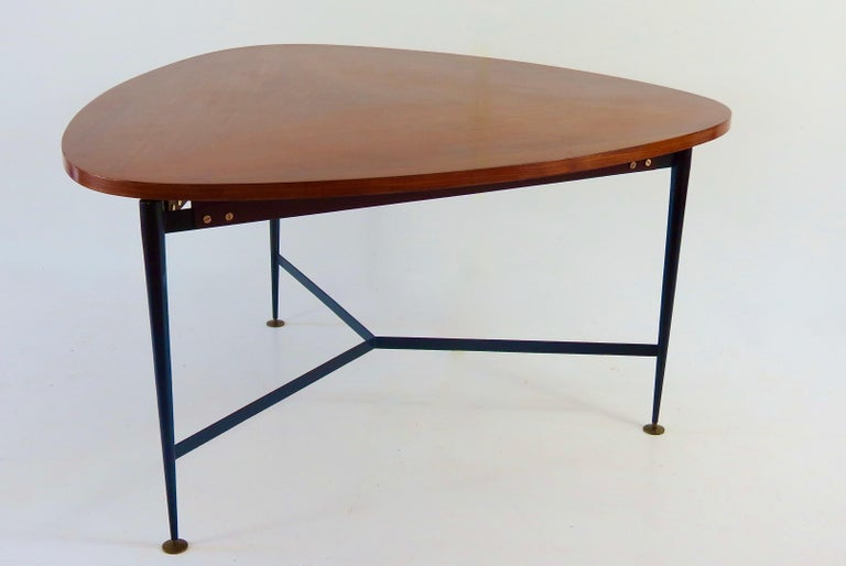 rare large dining or center table by Silvio Cavatorta circa 1950 