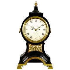 Fine Verge Repeating Balloon Clock, Newman Peachy, London