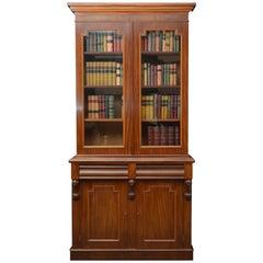 Fine Victorian Mahogany Bookcase