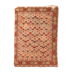 Fine Vintage Afghani Rug, Hand Knotted, circa 1950s