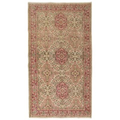 Fine Vintage Anatolian Rug in Soft Colors