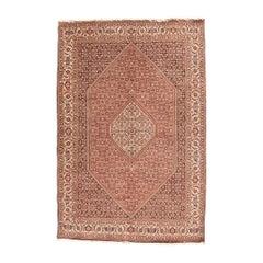 Fine Vintage Bidjar Persian Rug, Hand Knotted, circa 1970s