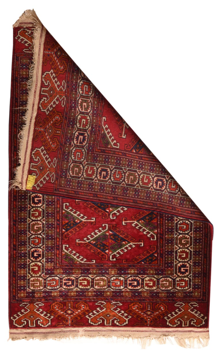 Other Fine Vintage Bokhara Russian Rug, Hand Knotted, circa 1940s For Sale