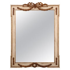 Fine Vintage French Style Carved Wood Framed Mirror
