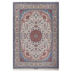 Fine Vintage Isfahan Persian Rug. Size: 10 ft 2 in x 14 ft 7 in (3.1 m x 4.44 m)