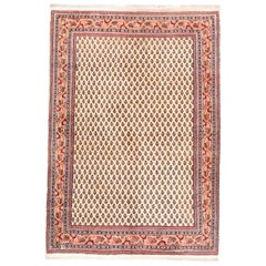 Fine Vintage Mir Persian Rug, Hand Knotted, circa 1960s