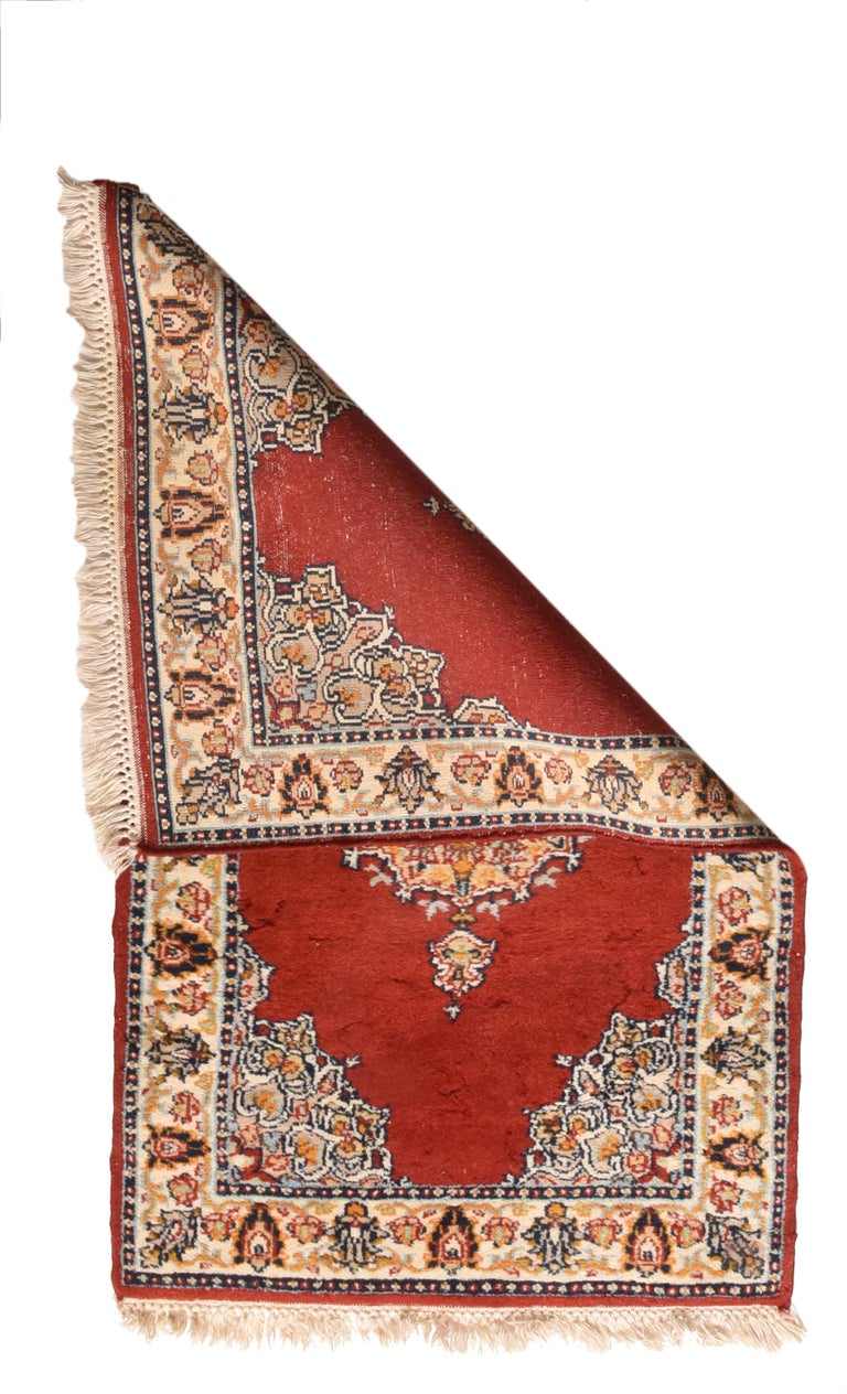 Fine Vintage Pak Bokhara Rug, Hand Knotted, circa 1950s In Excellent Condition For Sale In Chevy Chase, MD