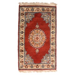 Fine Vintage Pak Bokhara Rug, Hand Knotted, circa 1950s