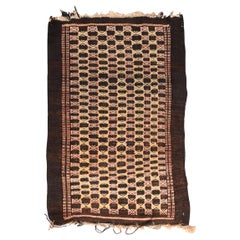 Fine Vintage Persian Balouch Tribal Rug, Hand Knotted, circa 1950s