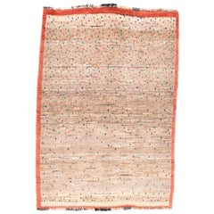 Fine Vintage Persian Gabbeh Rug, Hand Knotted, circa 1950